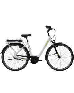 Kettler E-Citybike Traveller E Gold 8 K - white shiny