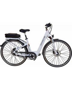 Saxonette E-Citybike Deluxe City II - weiß