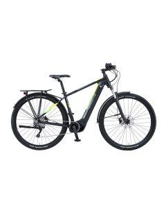 Green`s Trekking E-Bike Watford 29 Zoll - black matt / yello / green