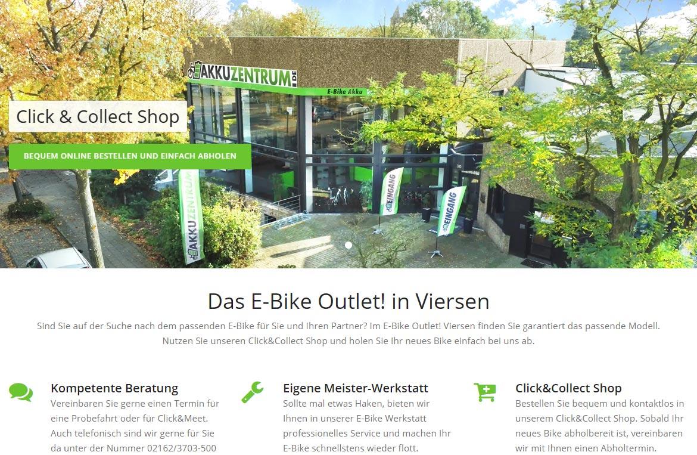 Das E-Bike Outlet Viersen!